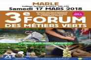 Forum des métiers verts à Marle