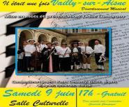 Vailly-sur-Aisne : musique classique et lectures