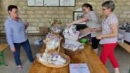 Vente de marshmallows faits maison par les membres de la bibliothèque de Crécy-au-Mont