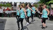 Les danseuses du club de Folembray en pleine démonstration