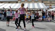 De la danse modern jazz avec les danseuses du club de Folembray