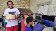 Cédric a présenté des jeux vidéo en lien avec l'Histoire et l'Environnement