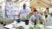 Philippe et Fabrice, amoureux des plantes, membres de l'association Hysope de Leuilly-sous-Coucy