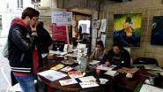 Les élèves du lycée Saint-Vincent de Paul de Soissons ont exposé leurs travaux et œuvré devant le public