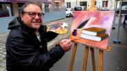 """Jean Blasetti, peintre et président de l'association """"Les artistes libres en Soissonnais"""""""