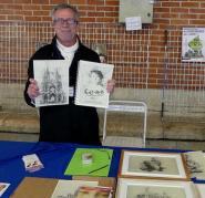 """Eric Boutigny, infographiste et auteur de """"Camille Claudel - En lumière"""" présentait  son livre et quelques dessins"""