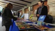 La librairie du centre exposait quelques ouvrages