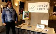 Bénédicte Lengagne, présidente du Photo club chaunois