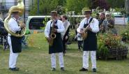 """Avec des morceaux comme """"Les oignons"""" ou """"Roses de Picardie"""" Les jazzdiniers étaient en phase avec l'évènement et le printemps"""