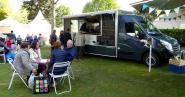 Quatre food truck étaient présents cette année