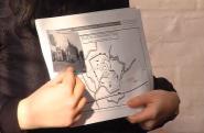 La carte de La Fère et des lieux détruits ou détériorés pendant la Guerre de 14-18