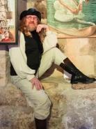 Pierre Grenier, artiste peintre. Crédit photo : JP Bellavoine