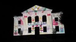 """Mapping vidéo à Vailly-sur-Aisne pour """"Les Féeries de Noël"""" - Tmavision Dessins enfants"""
