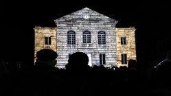 """Mapping vidéo à Vailly-sur-Aisne pour """"Les Féeries de Noël"""" - Tmavision maison pierre"""