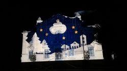 """Les """"Féérie de Noël"""" à Vailly-sur-Aisne : marché des saveurs et mapping vidéo sur la légende locale """"Le Père Noël habite l'Abondin"""""""
