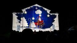 """Mapping vidéo à Vailly-sur-Aisne pour """"Les Féeries de Noël"""" - Tmavision Père Noel"""