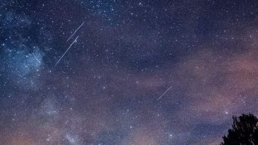Lyrides pluie étoiles filantes tmavision
