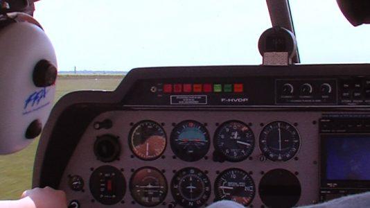 Aéroclub de Laon Charles 14 ans, passionné d'avion