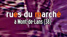 marché Mont-de-Lans rues du marché
